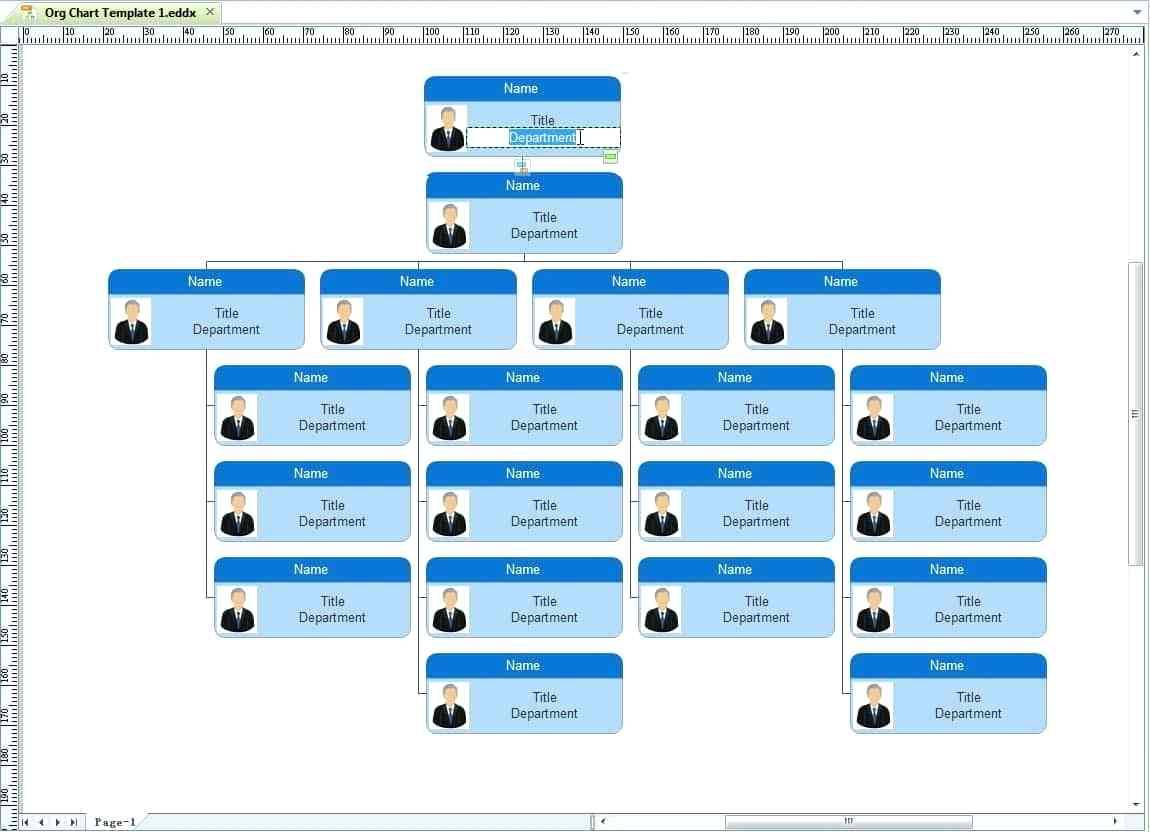 Organizational Structure Powerpoint Template Free