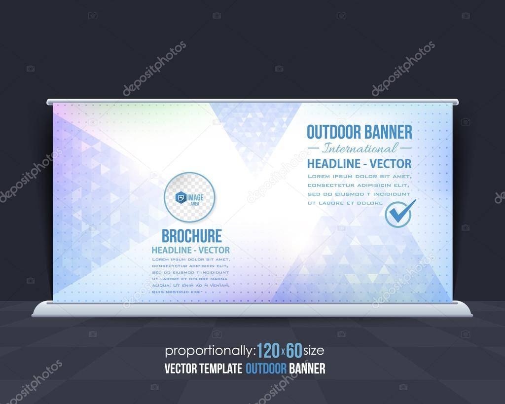 Outdoor Banner Template