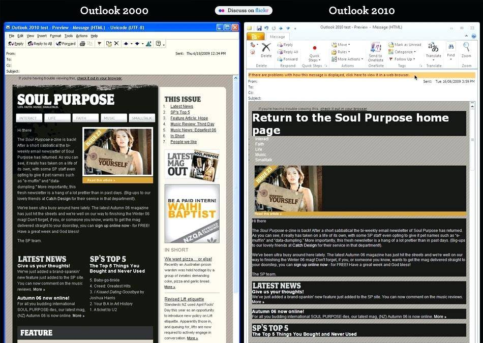 Outlook 2007 Html Email Template