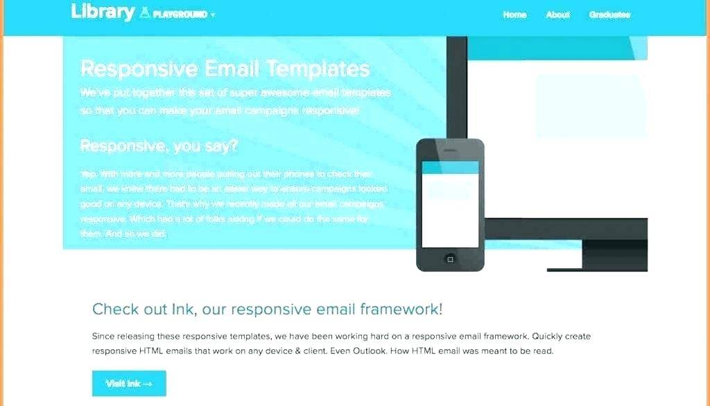 Outlook Html Email Newsletter Template