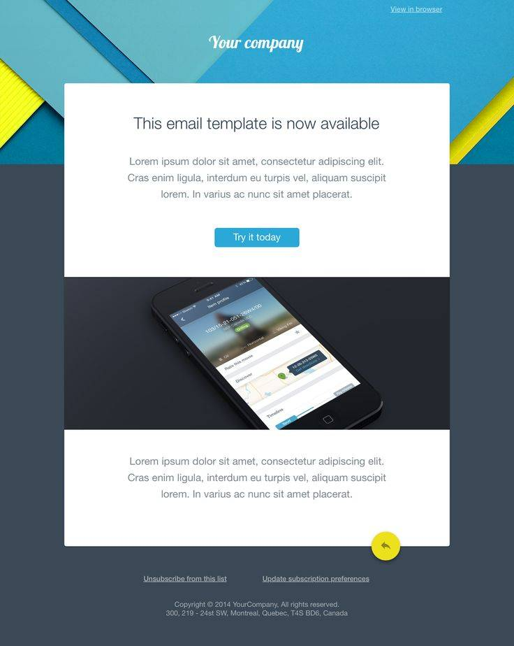 Outlook Html Email Template 2016