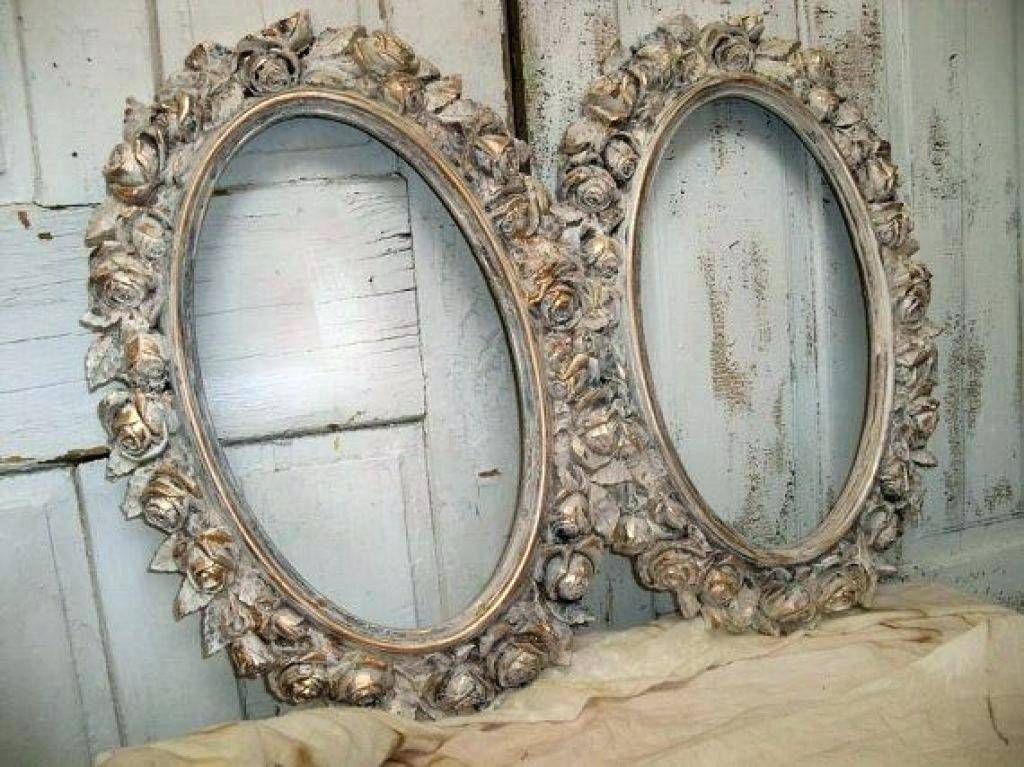 Oval Picture Frame Template