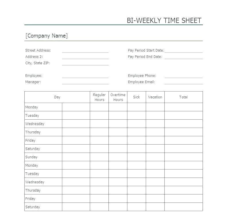 Overtime Policy Template Canada