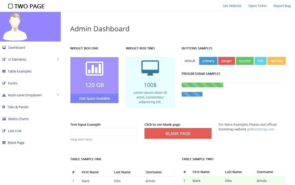 Paid Bootstrap Templates For Free
