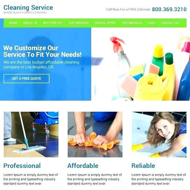 Painting Company Website Templates Free Download