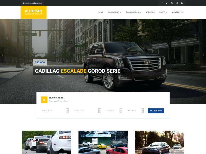 Painting Company Website Templates Free