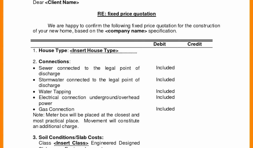 Painting Estimate Proposal Form Free