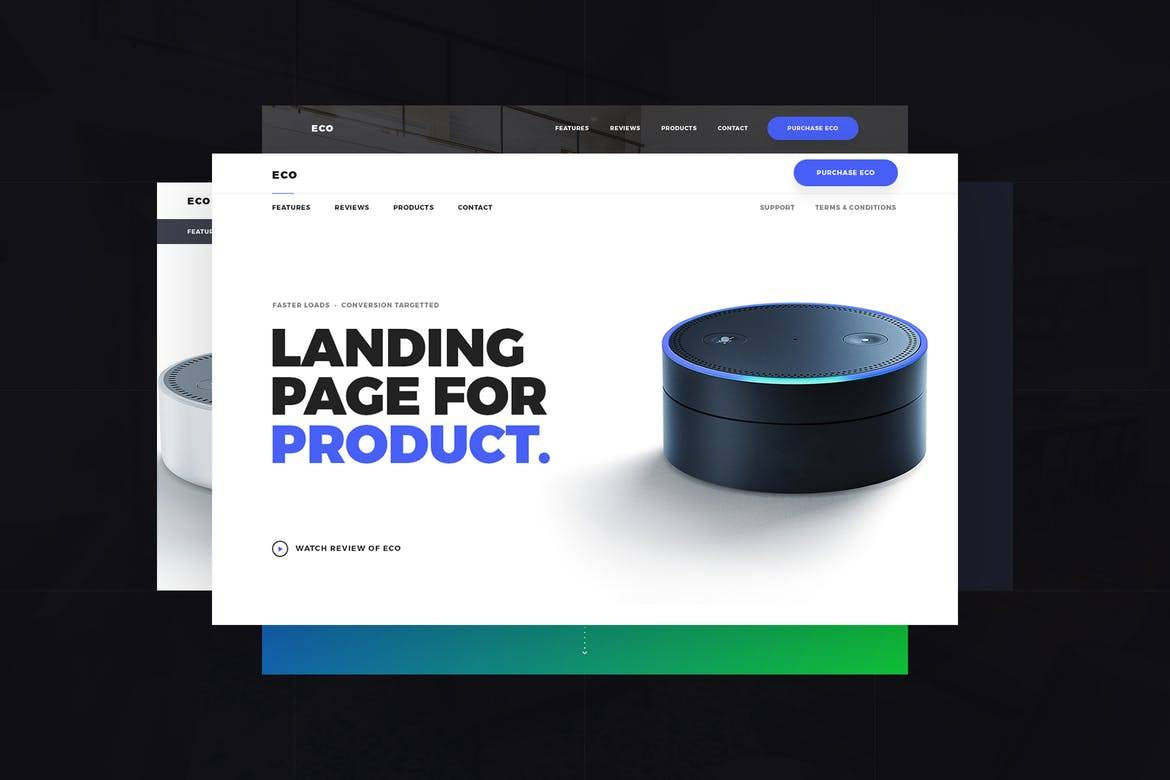 Parallax Landing Page Bootstrap Template