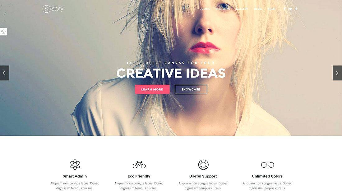Parallax Scrolling Website Templates Bootstrap Free Download