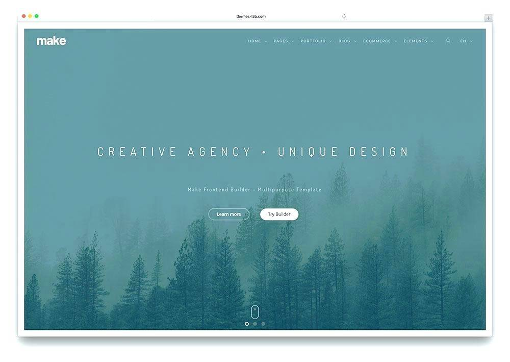 Parallax Scrolling Website Templates Bootstrap