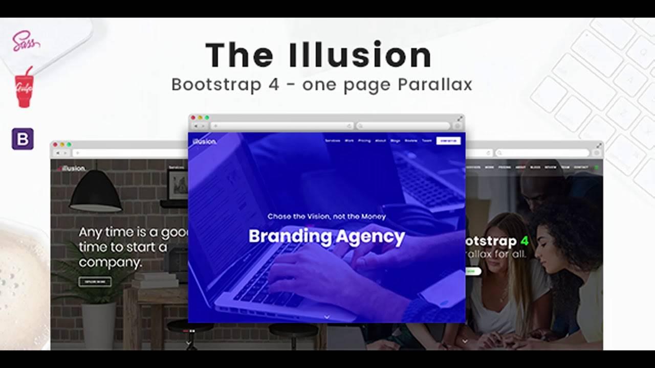 Parallax Website Templates Bootstrap