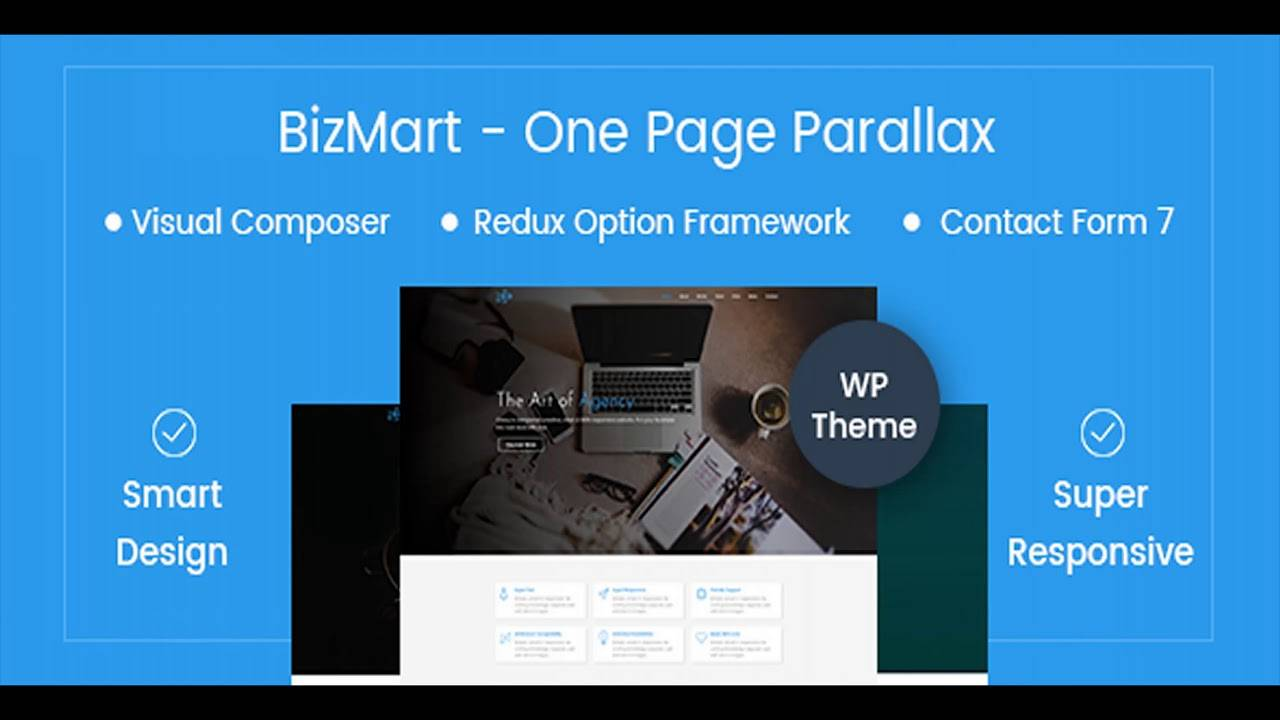 Parallax WordPress Theme Themeforest