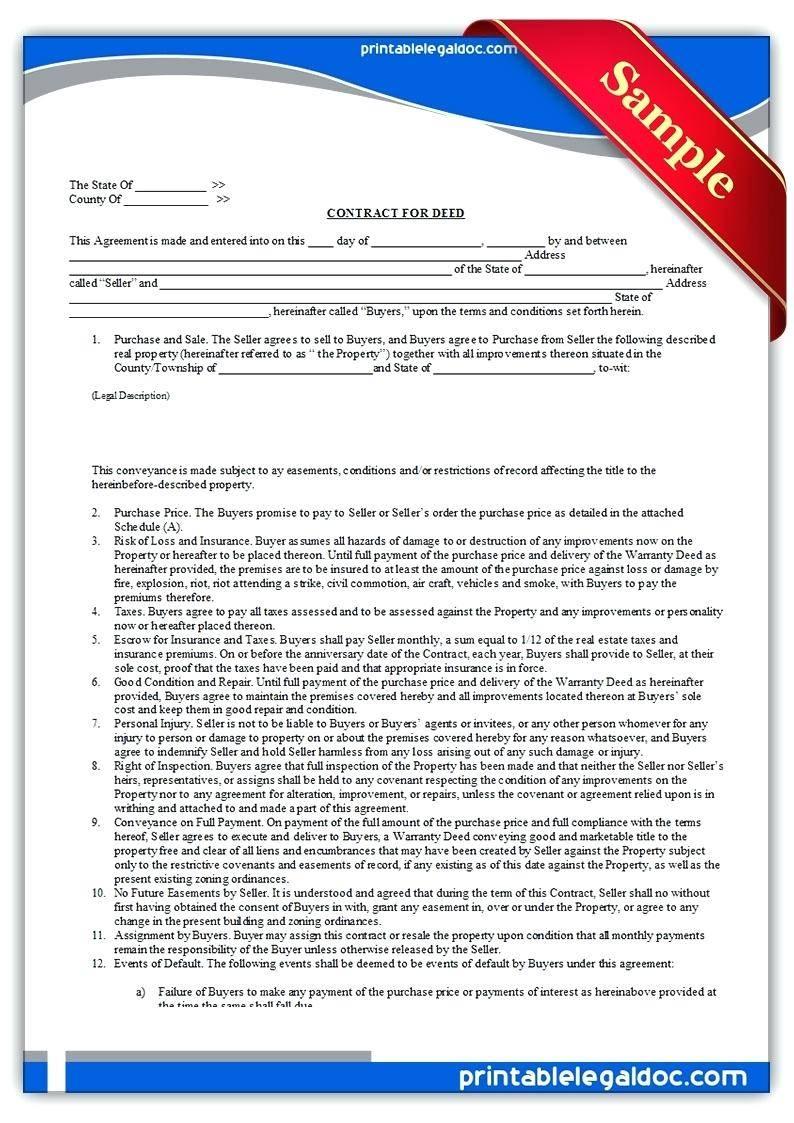 Parking Easement Agreement Template