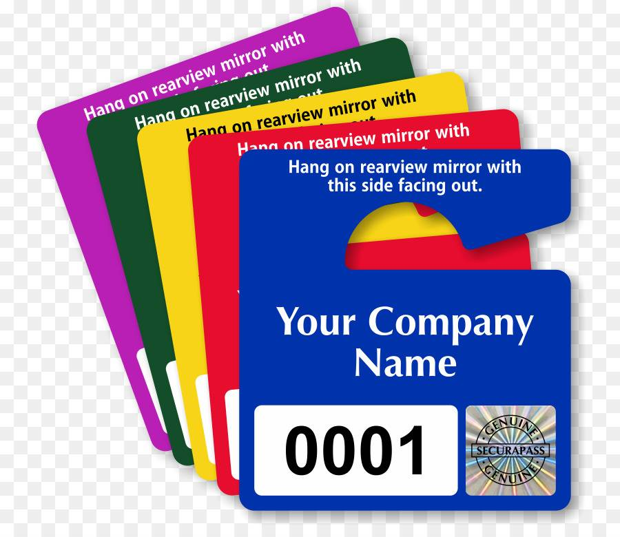 Parking Permit Template Download