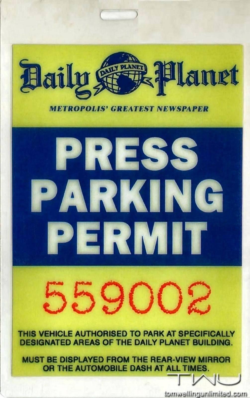 Parking Permit Template Publisher