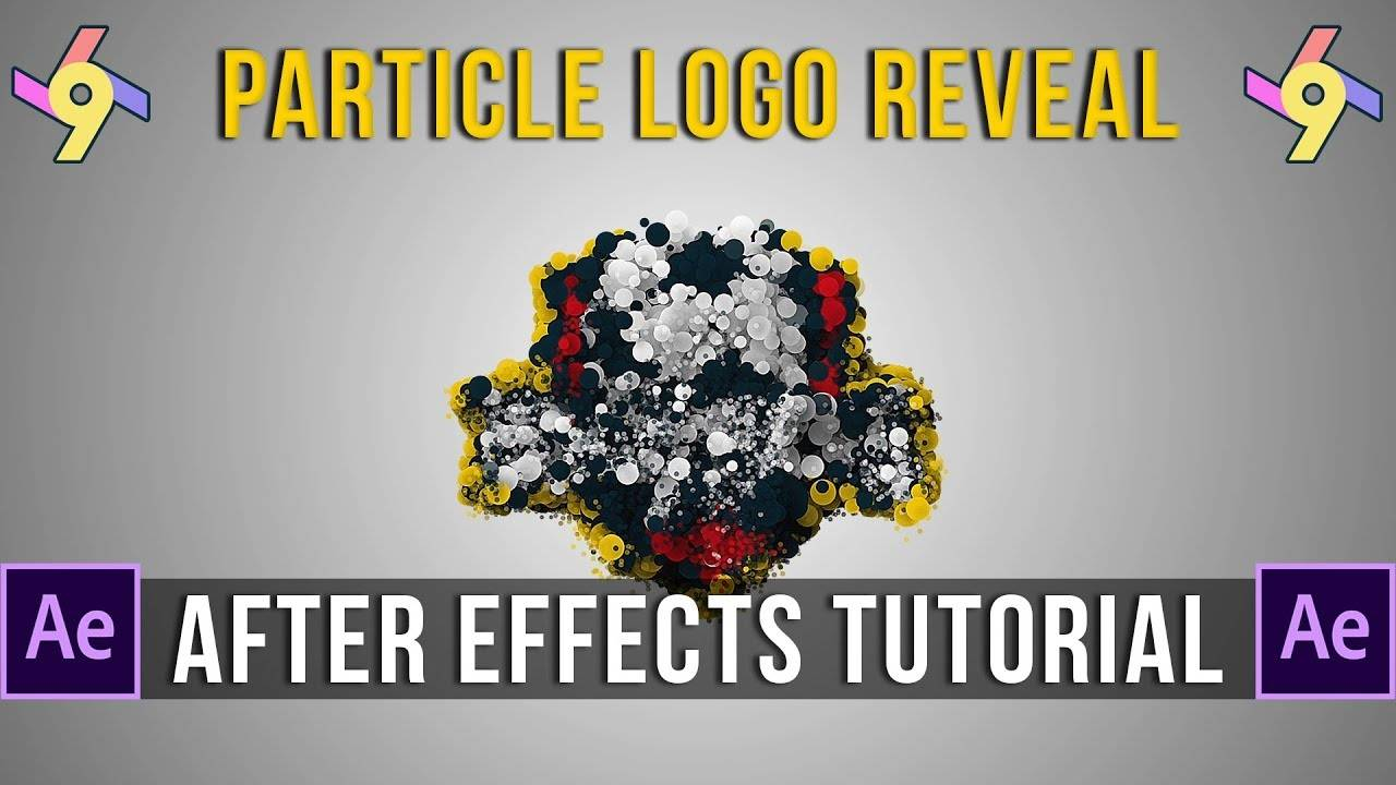 Particle Logo Reveal After Effects Template Free