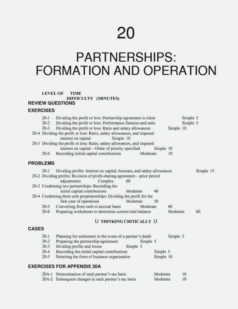 Partner Agreement Template Uk