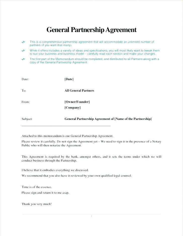 Partnership Agreement Template South Africa