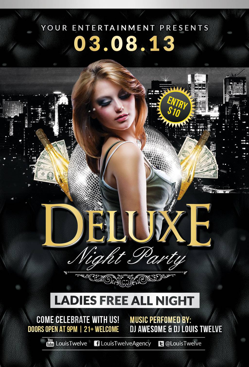 Party Flyer Templates Free Online