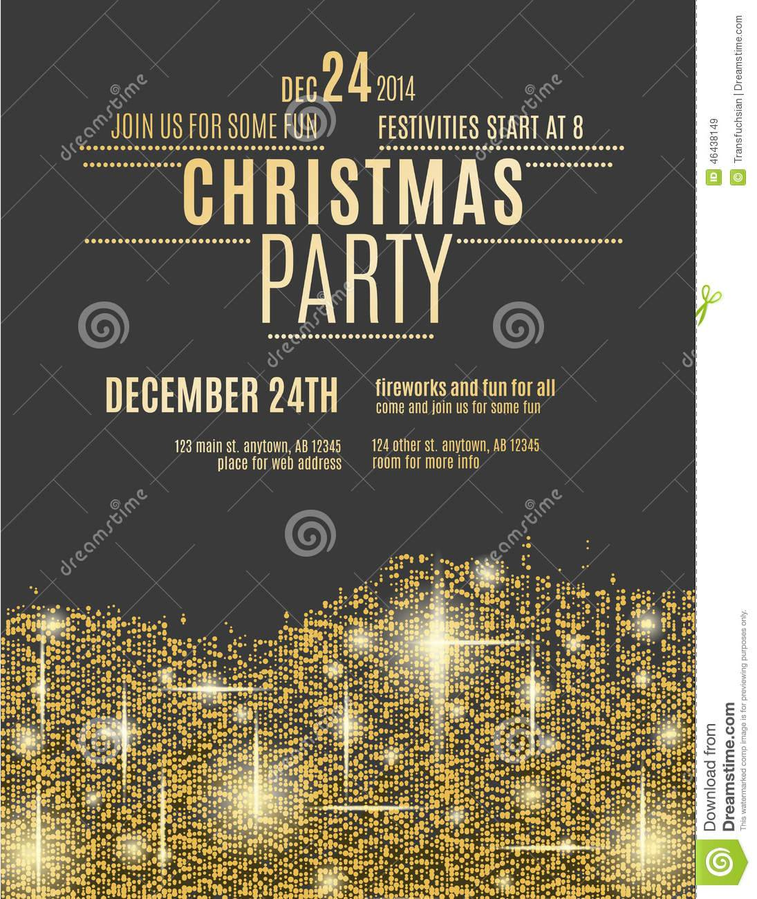 Party Invitation Flyer Templates Free
