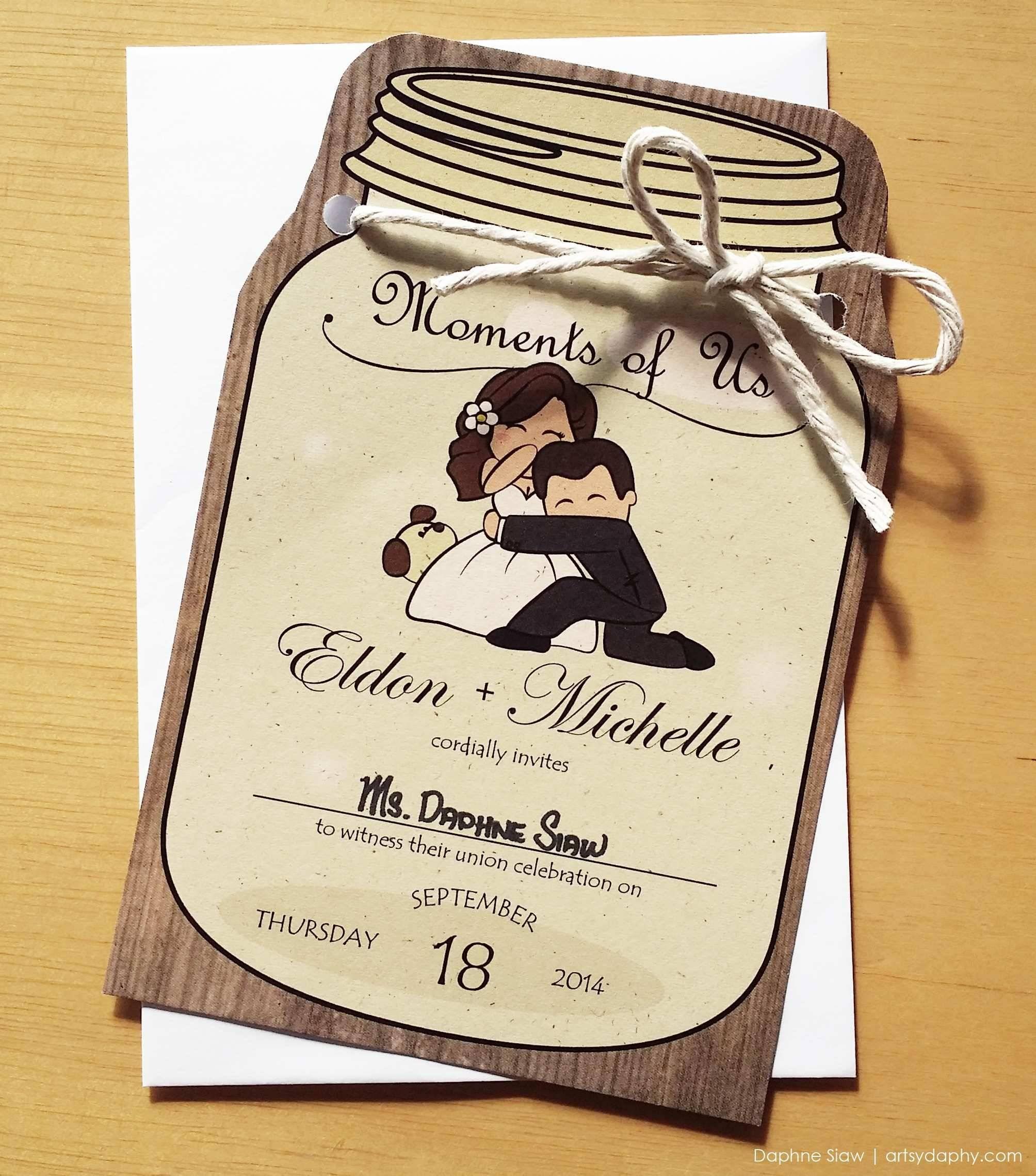 Passport Bridal Shower Invitations Template