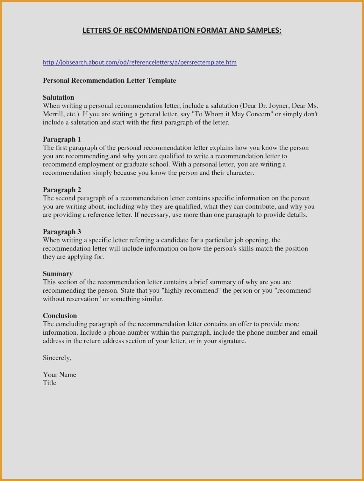 Payday Loan Letter Template