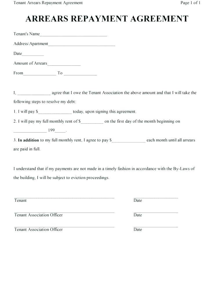 Payment Agreement Contract Word Template