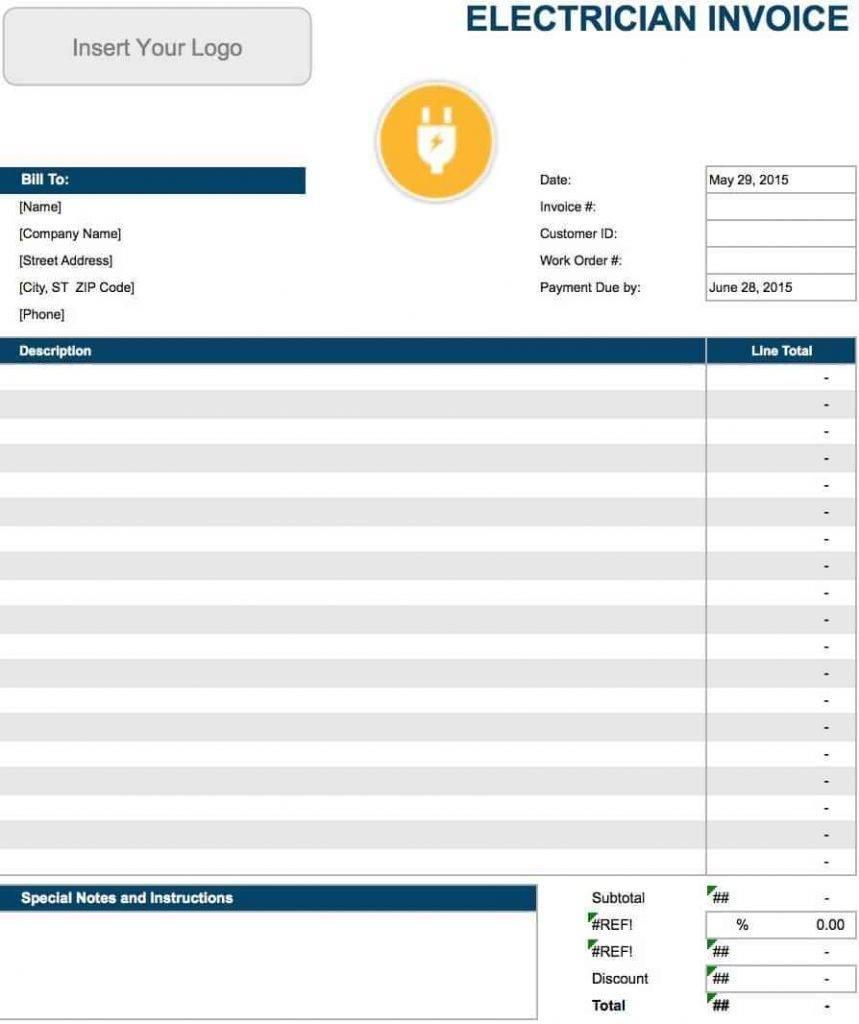 Payment Invoice Template Australia