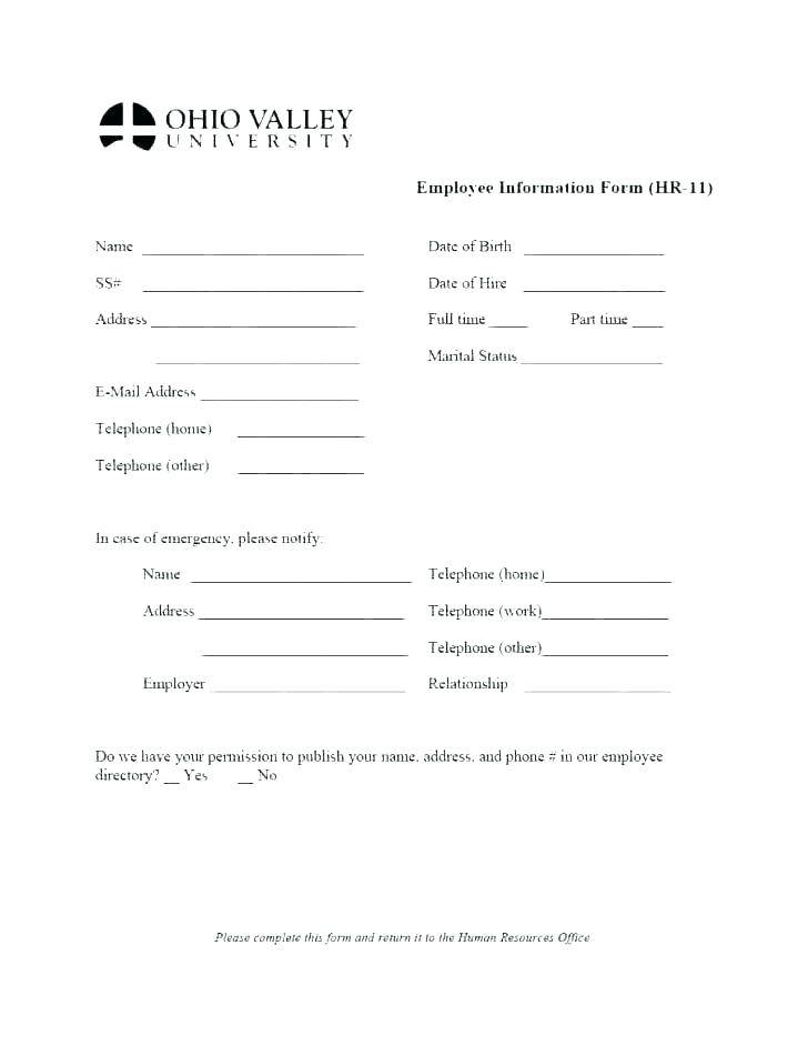 Payroll Deduction Form Word Template