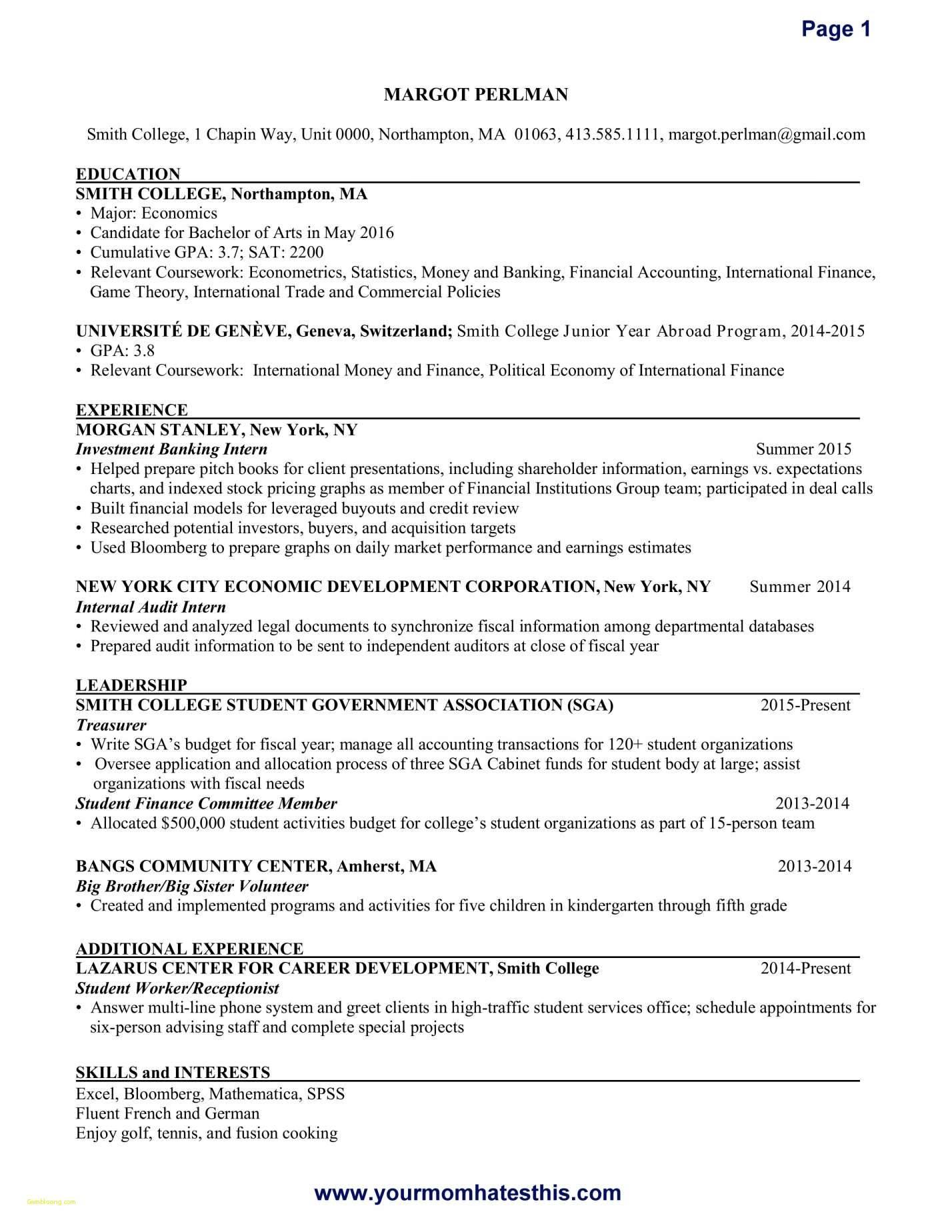 Payroll Executive Resume Template