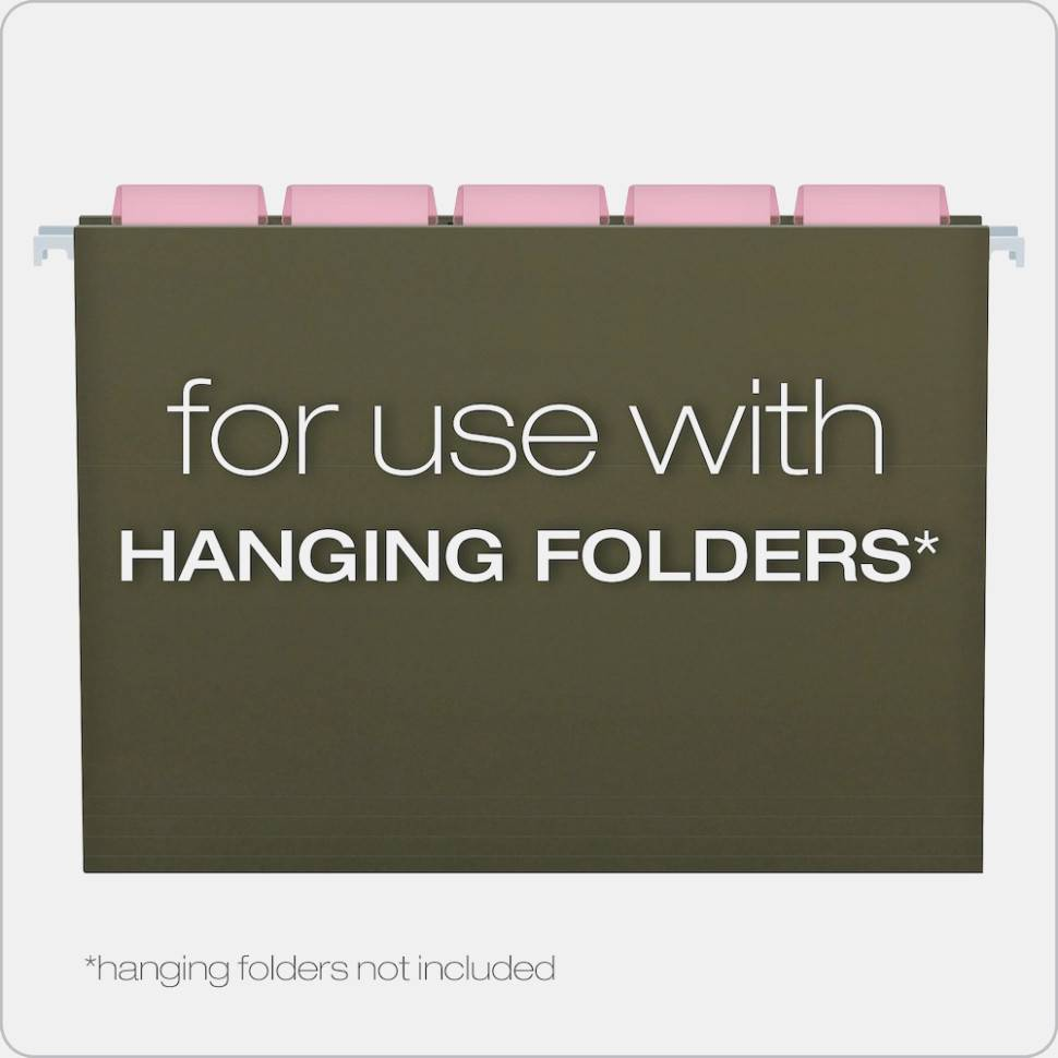 Pendaflex Hanging File Folder Label Template