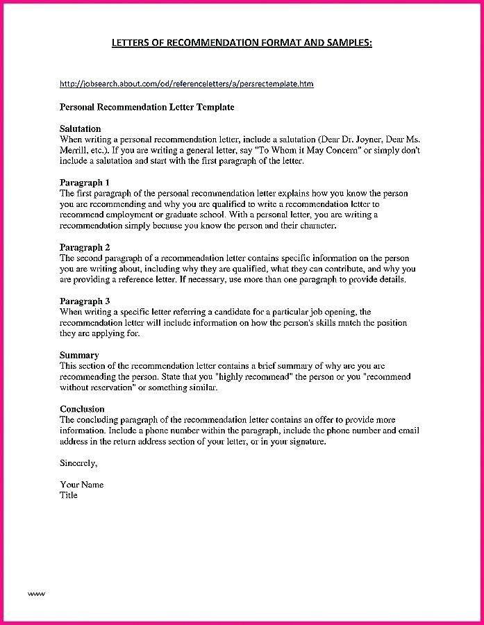 Permanent Guardianship Letter Template