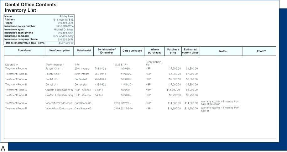 Perpetual Inventory System Excel Template