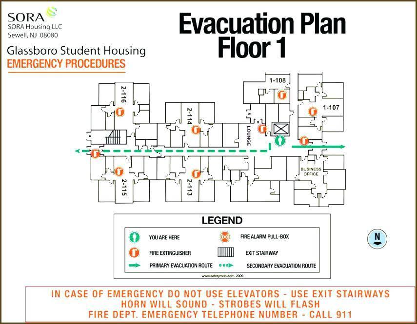 Personal Emergency Evacuation Plan Template Office