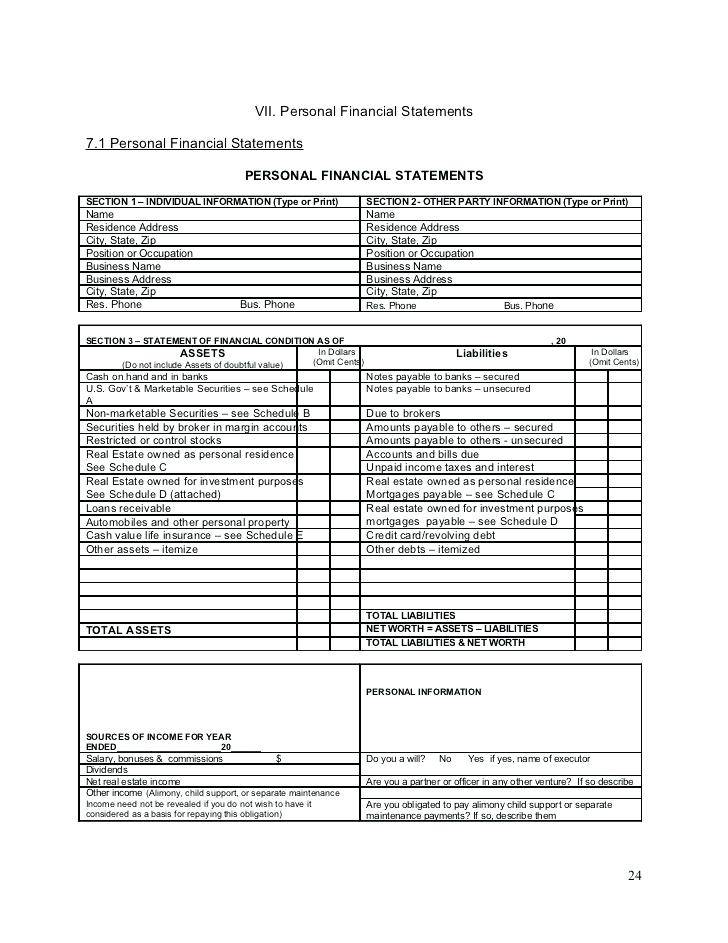 Personal Investment Plan Template Xls
