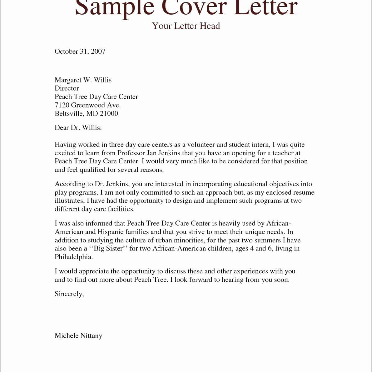 Personal Loan Application Letter Sample Pdf