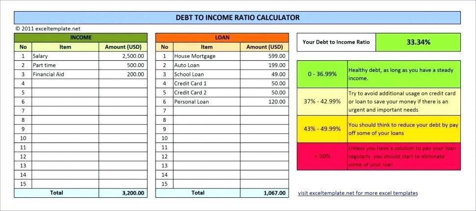 Personal Loan Repayment Schedule Template