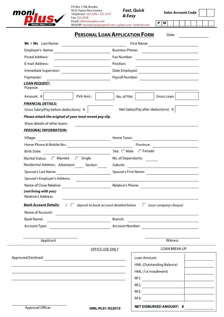 Personal Property Sales Contract Template