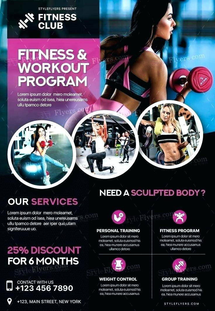 Personal Trainer Flyer Template Free
