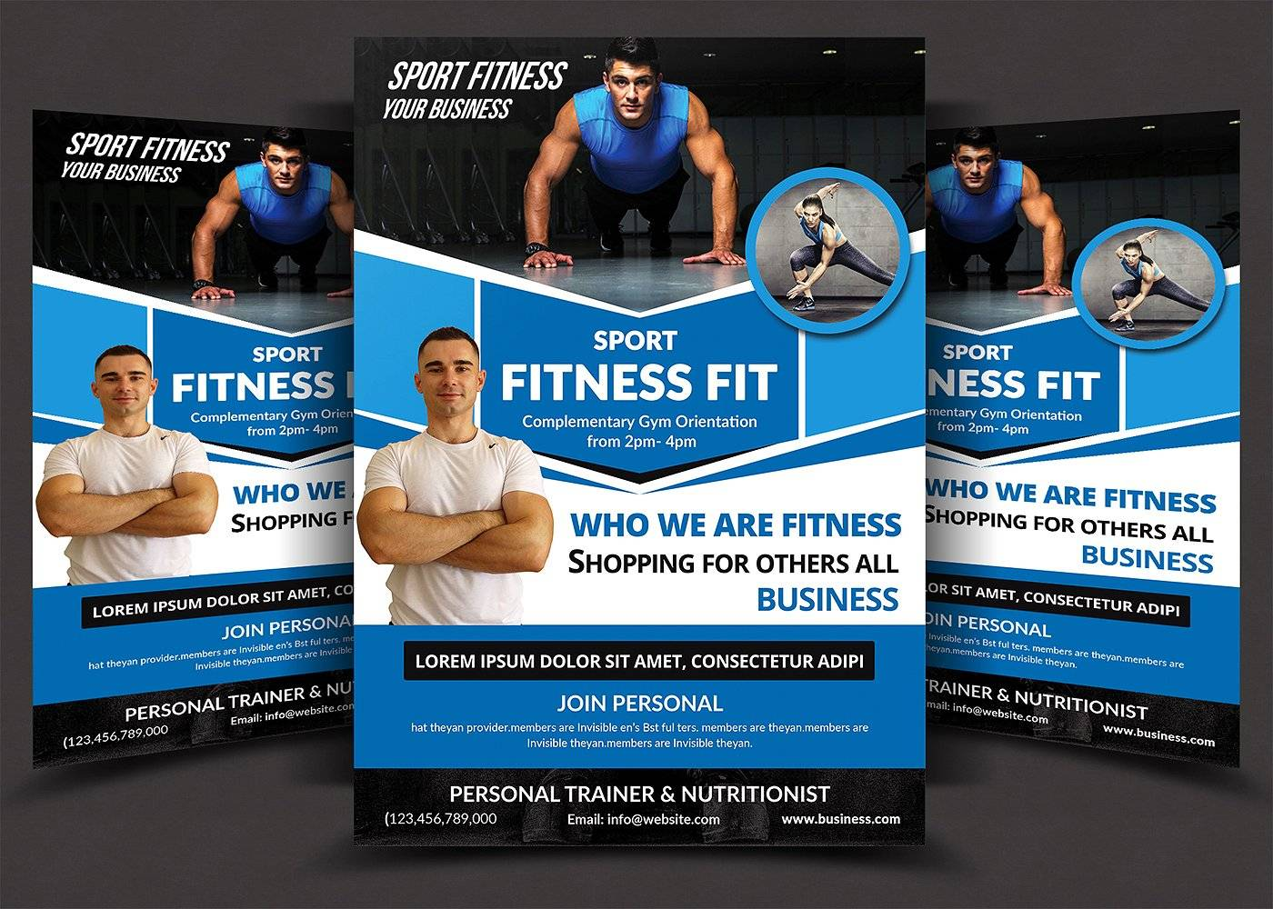 Personal Trainer Flyer Template