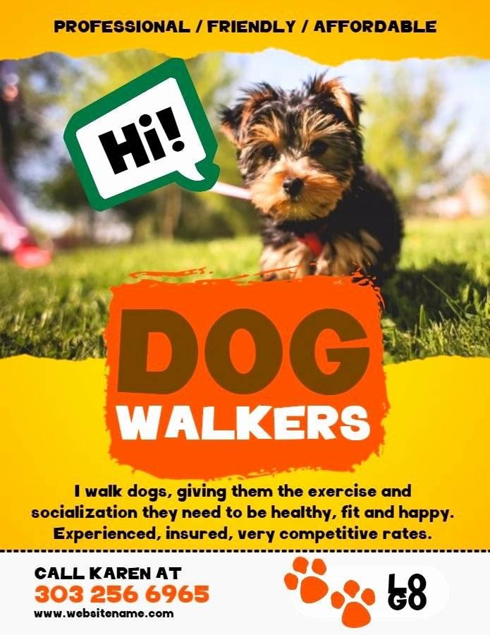 Pet Fundraiser Flyer Template Free