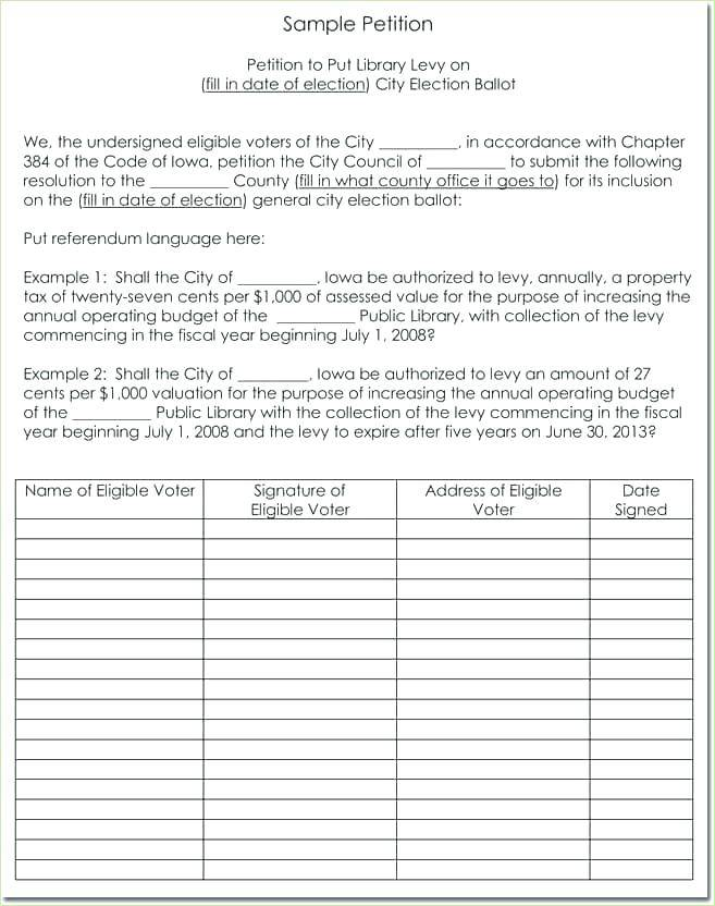 Petition Sample Format Philippines
