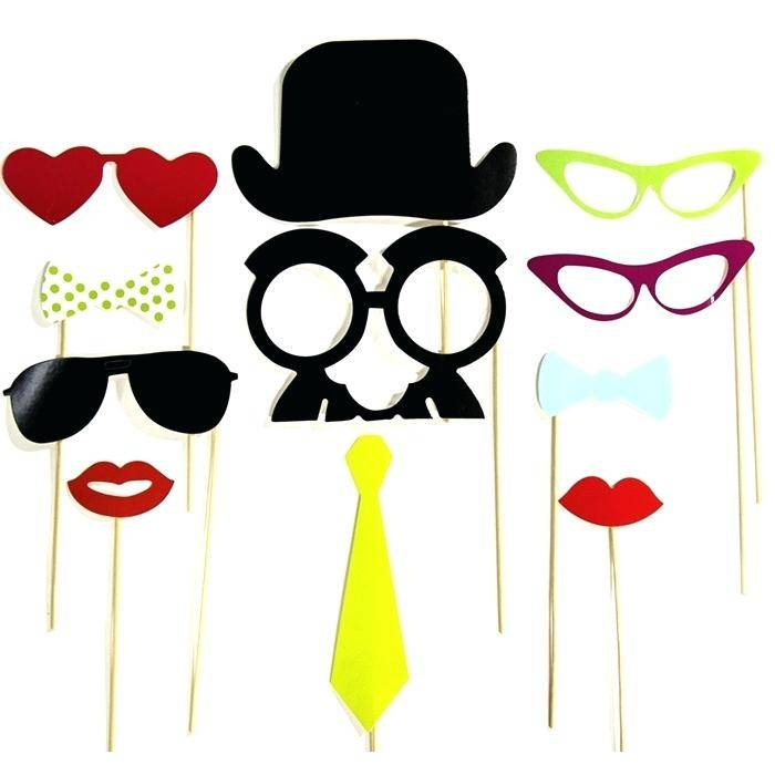 Photo Booth Props Template Graduation