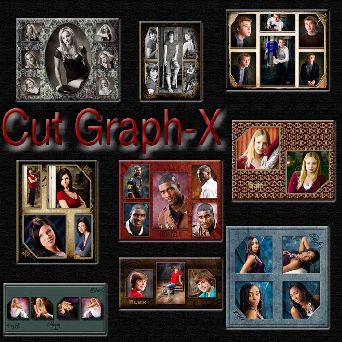 Photo Collages Templates Photoshop