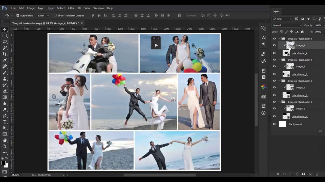 Photo Collages Templates