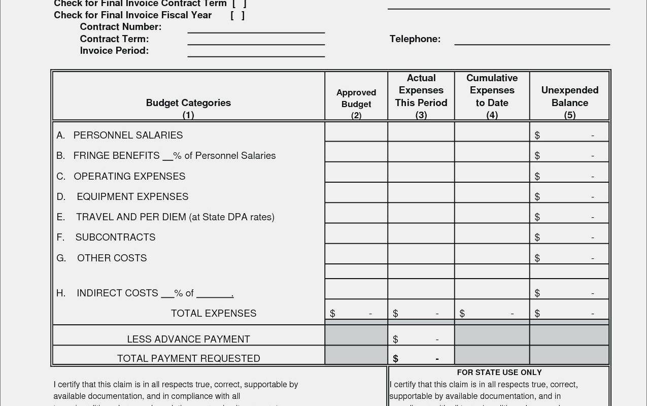 Photographer Invoice Template Excel