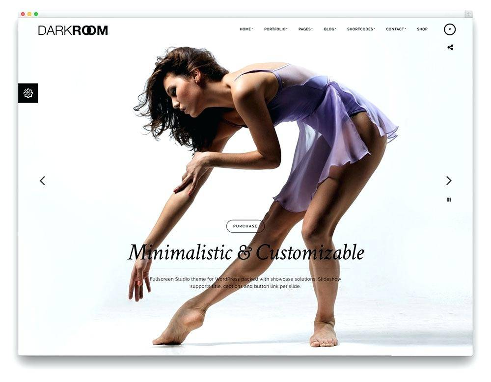 Photographer Portfolio Website Template Free Download