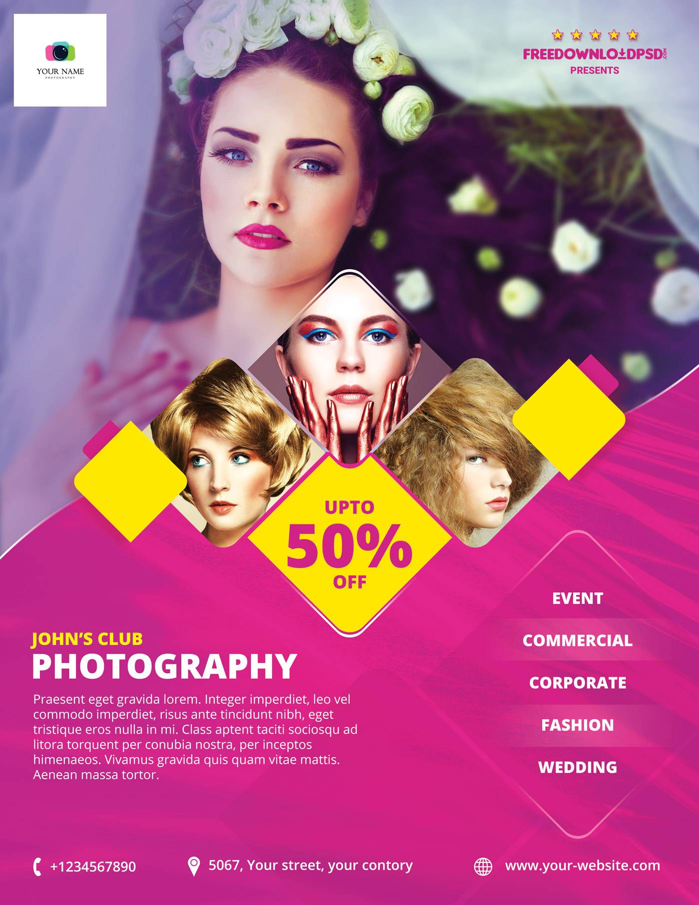 Photography Business Flyer Templates Free