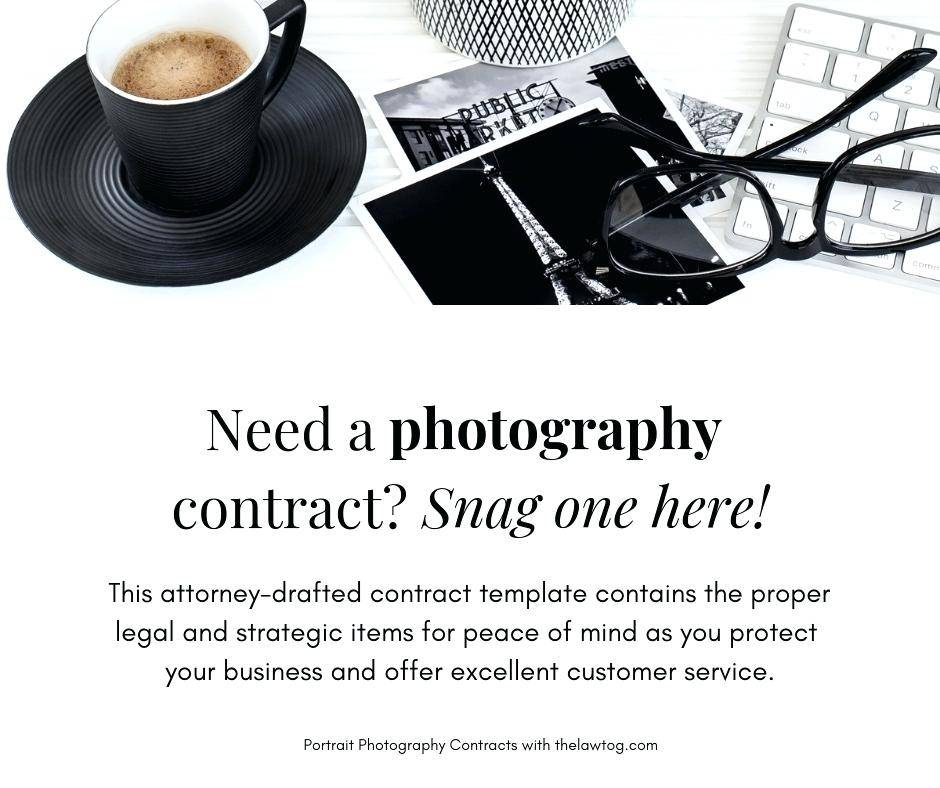 Photography Contract Samples Free