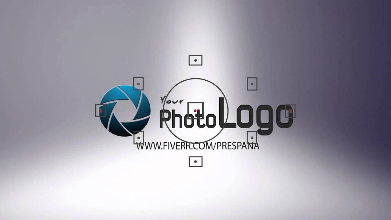 Photography Logo Reveal After Effects Template